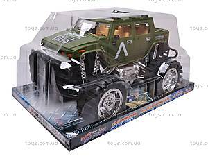 Машина инерционная «Армейский джип», 6137-1F, фото