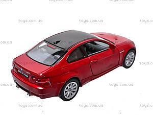 Машина инерционная BMW M3 Coupe, KT5348W, купить