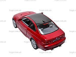 Машина инерционная BMW M3 Coupe, KT5348W, фото