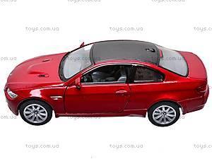 Машина инерционная BMW M3 Coupe, KT5348W, игрушки