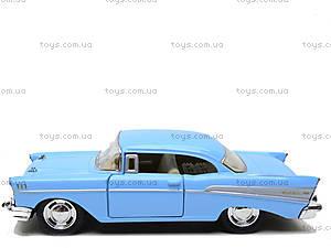 Коллекционный автомобиль Chevrolet Bel Air (1957), KT5313W, детские игрушки