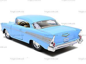 Коллекционный автомобиль Chevrolet Bel Air (1957), KT5313W, магазин игрушек