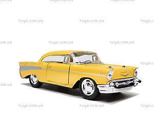 Коллекционный автомобиль Chevrolet Bel Air (1957), KT5313W, игрушка
