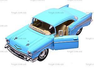 Коллекционный автомобиль Chevrolet Bel Air (1957), KT5313W, игрушки