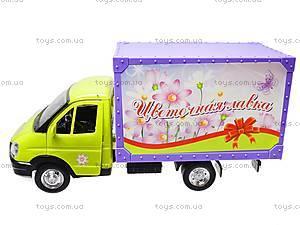 Машина инерционная «Цветы», 9558-D, игрушки
