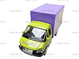 Машина инерционная «Цветы», 9558-D, детские игрушки