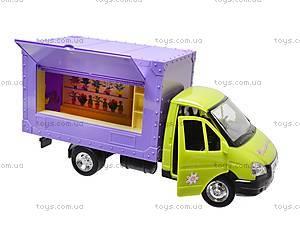 Машина инерционная «Цветы», 9558-D, магазин игрушек