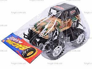 Машина инерционная детская «Джип», 55-03B, фото