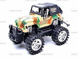Машина инерционная детская «Джип», 55-03B