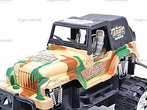 Машина инерционная детская «Джип», 55-03B, игрушки