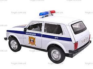 Машина инерционная ДПС, 9120-C, цена