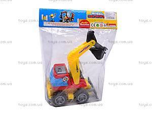 Машина инерционная «Экскаватор», 30008, игрушки