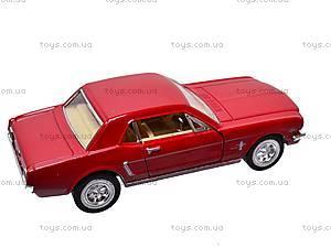Машина инерционная Ford Mustang (1964), KT5351W, отзывы