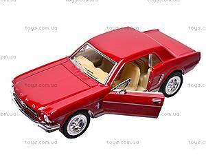 Машина инерционная Ford Mustang (1964), KT5351W, игрушки