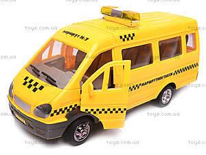 Машина инерционная «Газель Такси», 1115