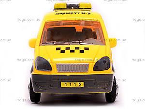 Машина инерционная «Газель Такси», 1115, отзывы