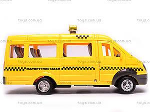 Машина инерционная «Газель Такси», 1115, игрушки
