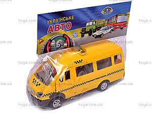 Машина инерционная «Газель Такси», 1115, детские игрушки
