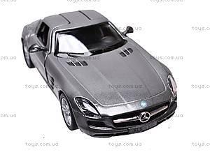 Машина инерционная Mercedes-Benz SLS AMG, KT5349W, отзывы