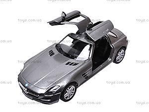 Машина инерционная Mercedes-Benz SLS AMG, KT5349W, игрушки