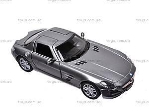 Машина инерционная Mercedes-Benz SLS AMG, KT5349W, детские игрушки
