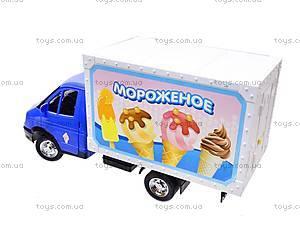 Машина инерционная «Мороженное», 9558-C, цена