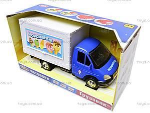 Машина инерционная «Мороженное», 9558-C