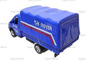 Машина инерционная «Почта», 9557-C, фото