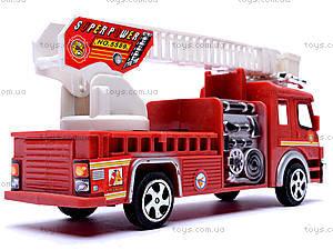 Машина инерционная «Пожарная», TX5589, фото