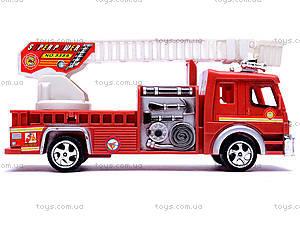 Машина инерционная «Пожарная», TX5589, отзывы
