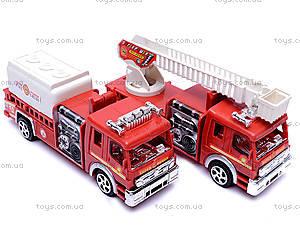 Машина инерционная «Пожарная», TX5589, игрушки