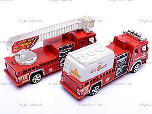 Машина инерционная «Пожарная», TX5589, детские игрушки