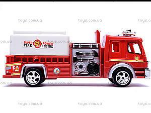 Машина инерционная «Пожарная», TX5589, toys