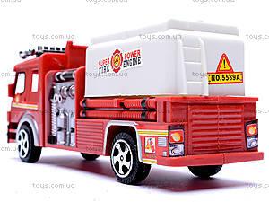 Машина инерционная «Пожарная», TX5589, детский