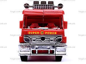 Машина инерционная «Пожарная», TX5589, Украина