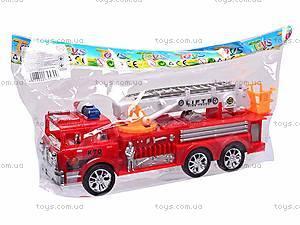 Машина инерционная «Пожарная охрана», 7215, купить