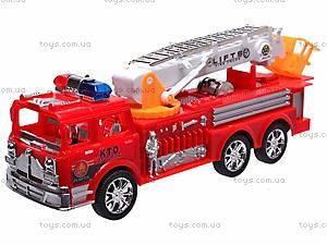 Машина инерционная «Пожарная охрана», 7215
