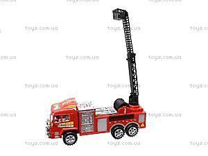 Машина инерционная «Пожарная служба», 6248, фото