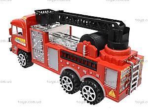Машина инерционная «Пожарная служба», 6248, игрушки