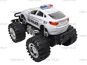 Машина инерционная «Полиция» для детей, 888-1, фото