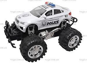 Машина инерционная «Полиция» для детей, 888-1, отзывы