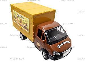 Машина инерционная «Выпечка», 9558-B, детские игрушки