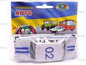 Машина инерционный ВАЗ-2106 «Милиция», 14112, купить