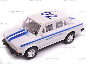 Машина инерционный ВАЗ-2106 «Милиция», 14112