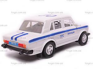 Машина инерционный ВАЗ-2106 «Милиция», 14112, отзывы