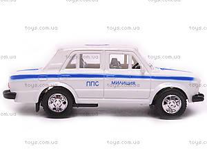 Машина инерционный ВАЗ-2106 «Милиция», 14112, цена