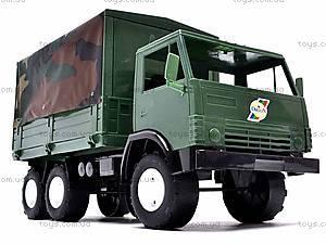 Машина КамАЗ с тентом, 884