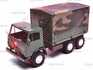 Машина КамАЗ с тентом, 884, детские игрушки