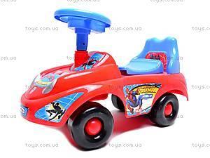 Машина-каталка с музыкальным рулем, JR903B, отзывы