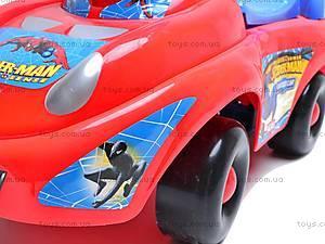 Машина-каталка с музыкальным рулем, JR903B, игрушки